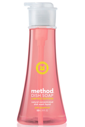 Method's Pink Grapefruit Dish Soap