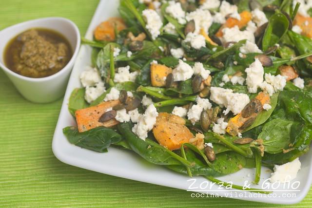 Australian pumpkin salad