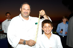 Chef Jeffrey Strauss with Mateo Levy