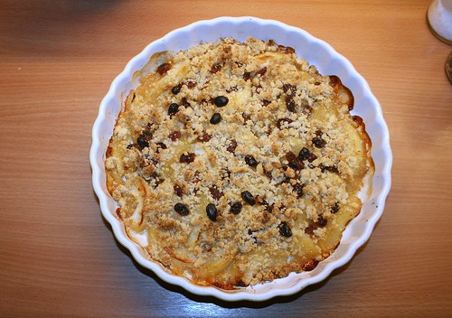 31 - AppleCrumble - fertig gebacken