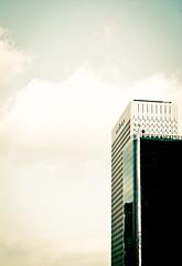 La Defense (neo.tux) Tags: sky tower modern clouds skyscraper high tour moderne ciel nuages haut gratteciel