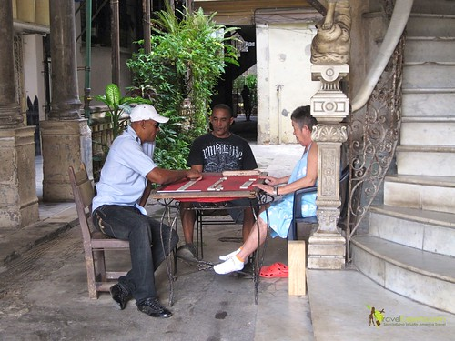Domino Players - Havana Cuba