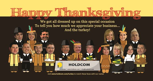 Holdcom 2011 Thanksgiving Card