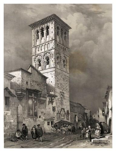 018-Parroquia de Santo Tome en Toledo-España artística y monumental..Tomo II- 1842-1850-Genaro Perez de Villa-Amil