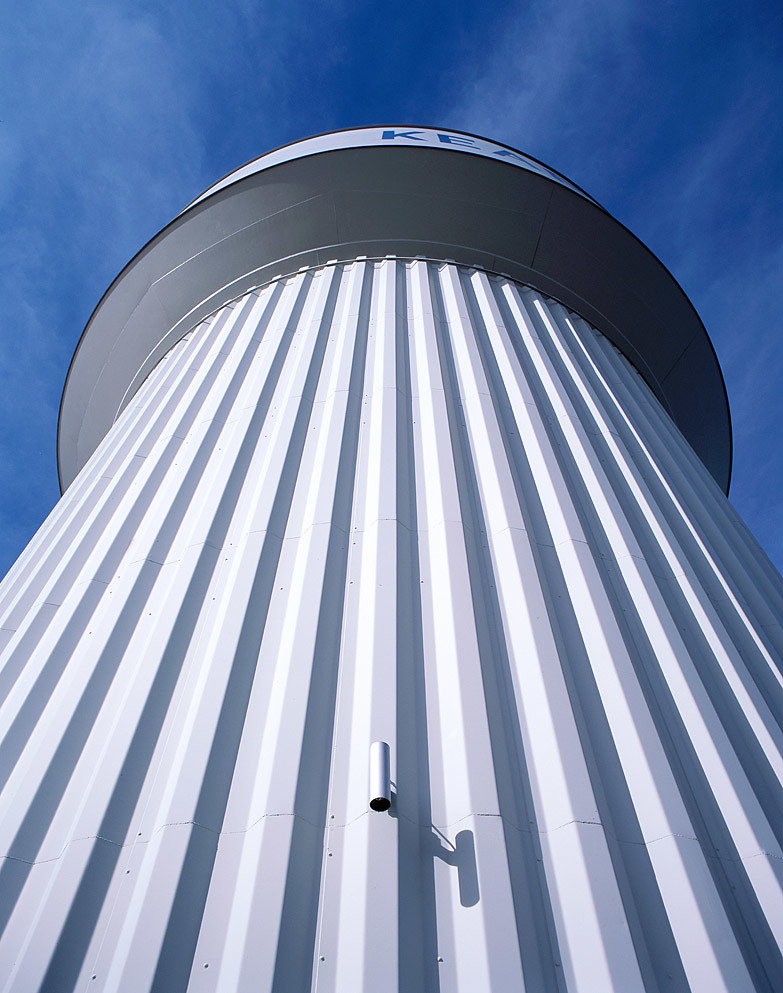 Large water tower