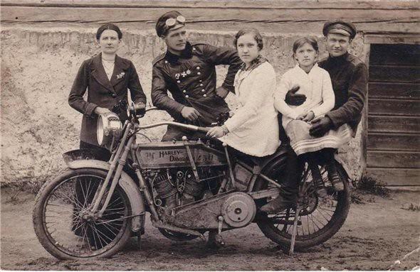 мотоциклисты Российской Империи