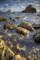 Mupe Bay 2 (John J Buckley) Tags: seascape rock landscape bay coast long exposure dorset stacks mupe