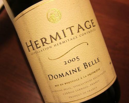 2005 Hermitage Domaine Belle