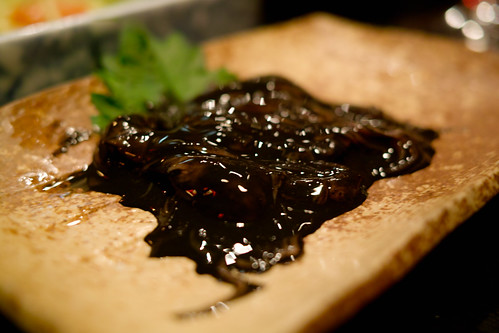 black squid shiokara