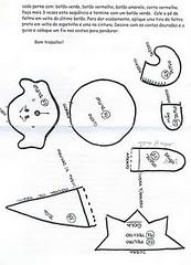 mini duende1 (Miss Lele 2011) Tags: christmas natal pattern felt feltro molde