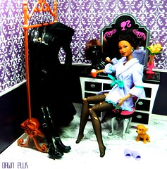 Dark Vixen: The Morning After (Dawn Ellis) Tags: barbie morningafter dollhouse dollfurniture blackdoll blackbarbie trichelle aabarbie barbieplayset dolldiorama soinstyle barbiefashionista