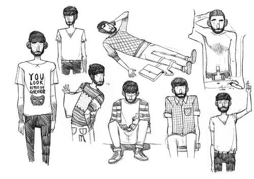 amores minúsculos: sketches. 2011