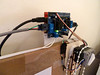 Polargraph controller board mounting (Euphy) Tags: arduino adafruit motorshield polargraph