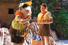 Wilderness Explorer Ceremony at the Redwood Creek Challenge Trail
