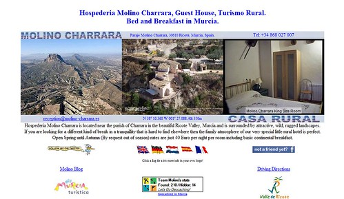 Molino Charrara: If you are looking for Bed and Breakfast in Murcia then Hospederia Molino Charrara is the place by totemtoeren