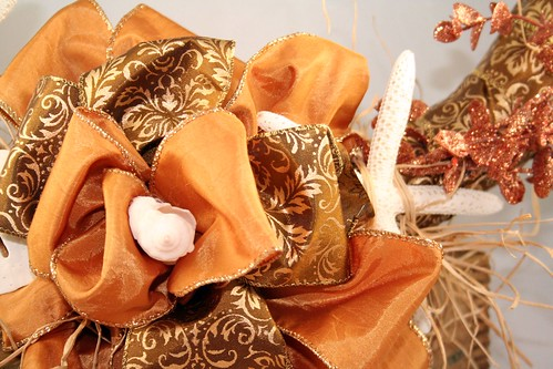 Gold Shell Wreath 4