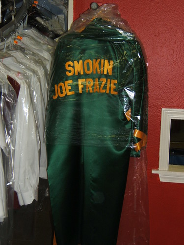 Joe Frazier's Robe by joespake