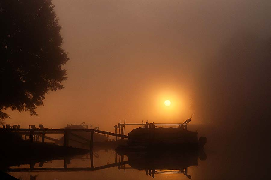 11.8.11 Foggy Sunrise