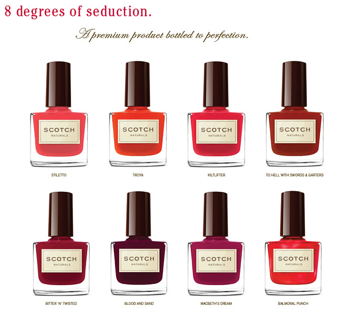 Scotch Naturals WaterColors 2011 Red Collection