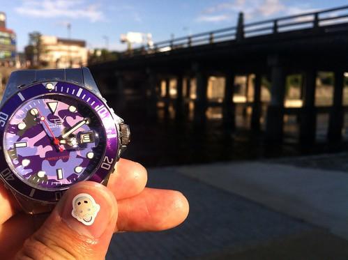 到着、時計