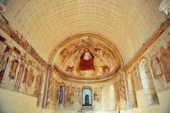 Chapelle N.D. d'Yron de Cloyes-sur-le-Loir - Eure-et-Loir (Philippe_28) Tags: france church roman peinture 28 notre dame église chapelle loir murale romane eureetloir yron cloyes