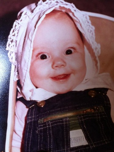 Hannah baby bonnet