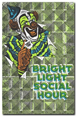 Bright Light Social Hour Gigposter