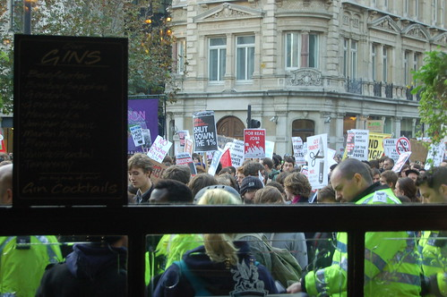student protest Nov 11 5