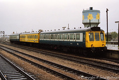 Class 118, with W51325 leading at Cardiff (blackwatch55013) Tags: dmu class118