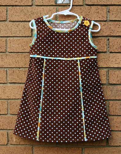 brown cord dress 1