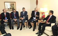 Presidente dialogó con Consejo Consultivo Empresarial (ABAC)