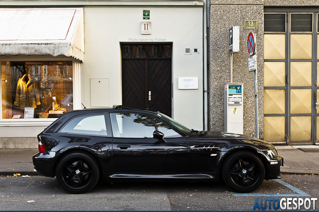S50B32 M Coupe | Cosmos Black | Black | Blacked Out BMW Z3 M Coupe