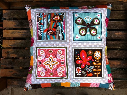 Window Pane Pillow