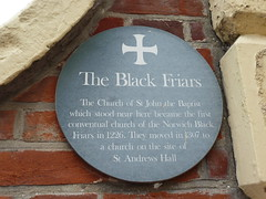 Photo of Church of St John the Baptist green plaque