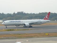 B773 TC-JJP (wembleybob) Tags: tokyo boeing 300 777 turkish narita nrt b773 rjaa tcjjp