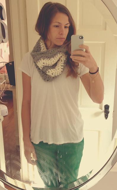 kates scarf on me
