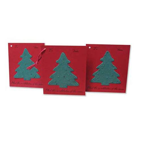 Plantable gift tags