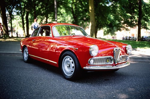 1959 Alfa Romeo Giulietta Sprint by scurvy_knaves