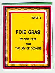 Foie Gras by Edie Fake (fotoflow / Oscar Arriola) Tags: sf california ca usa zine west art cooking shop illustration america print coast us store artwork san francisco screenprint drawing united joy fake illustrations bookstore independent american printing silkscreen gras states pens needles edie publishing selfpublished foie