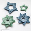 5 And 7-pointed Origami Stars