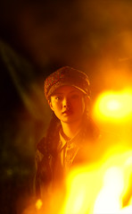 Girl & Fire (Jonathan Kos-Read) Tags: china night delete5 fire delete2 chinese save3 delete3 save7 save8 delete delete4 save2 save9 save4 save5 save10 save6 prettygirl savedbydeletemeuncensored