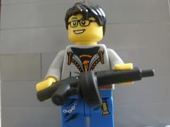 AA12 (m.er~) Tags: lego prototype aa12 brickarms