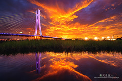 () Tags: sunset red phoenix night clouds fire taiwan  taipei blaze     eveningglow        stunningskies  64