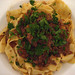 Pig cheek ragu on fresh pasta