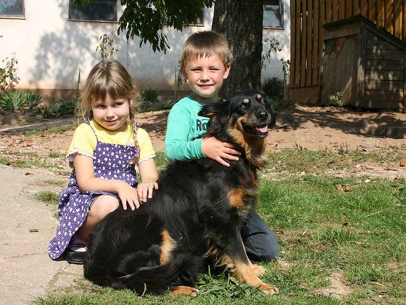 Noudlsberger Hof - Kinder mit Hund