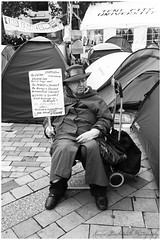 (Karen Duckworth Photography) Tags: woman london st cathedral protest pauls occupy