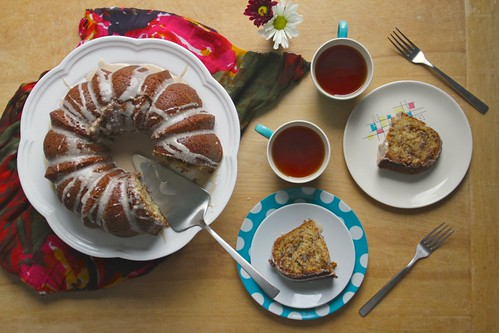 mom's sour cream coffee cake
