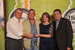 Briuan & Bernie Campbell of JUst Desserts receiving their Award (Blas Na hEireann) Tags: ireland irish tourist eire kerry killarney lakesofkillarney irelandviews macmonagle killarneyviews kerryviews