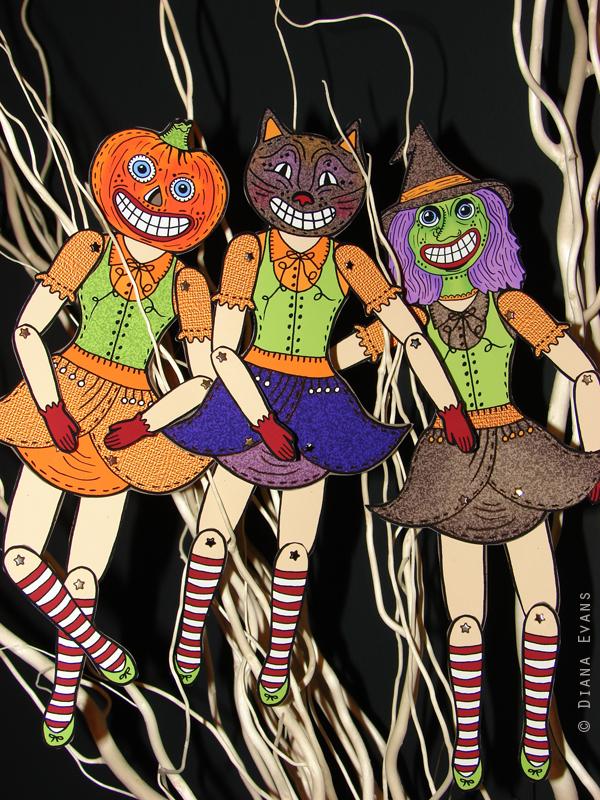 Halloween 2011 Dolls all3