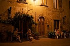 Vecchi Amici (Alex_Alpha) Tags: old panorama castle zeiss 35mm sam antique thing sony volterra carl tuscany negozio alpha toscana oldest dt slt a55 antichita a55v sal35f18